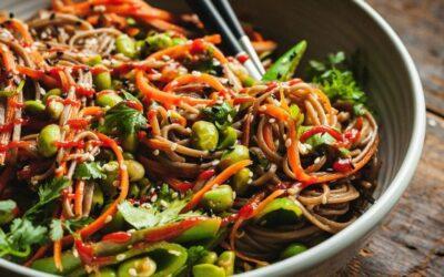 Thai Red Chicken Noodle Bowl
