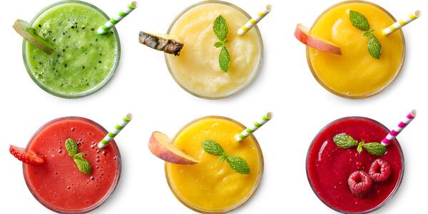 frozen fruit smoothies