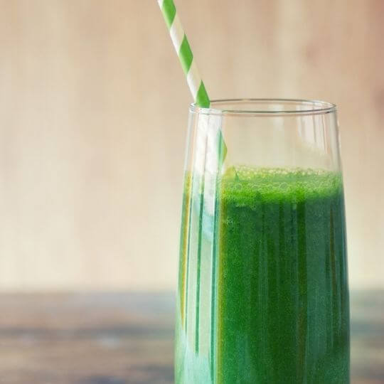 green immune support smoothie
